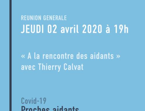 Intervention de Thierry Calvat pour les coachs solidaires mobilisés | COVID-19